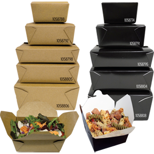 Folded Food Boxes